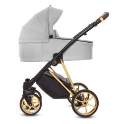 Wózek 3w1 Musse Ultra (szary), Baby Active