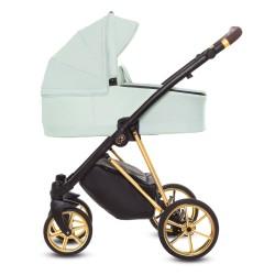 Wózek 3w1 Musse Ultra (miętowy), Baby Active