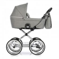 Wózek 2w1 Coss Classic Titanium , Roan