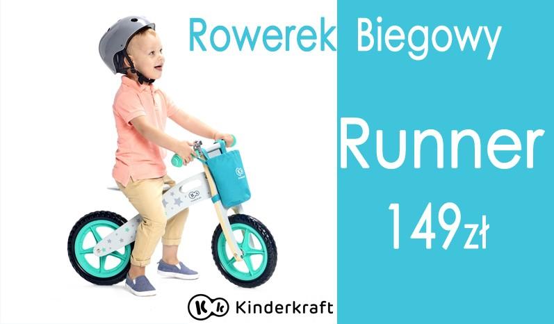 Rowerek biegowy RUNNER